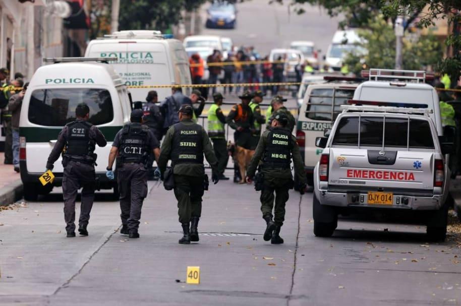 Atentado terrorista en Bogotá