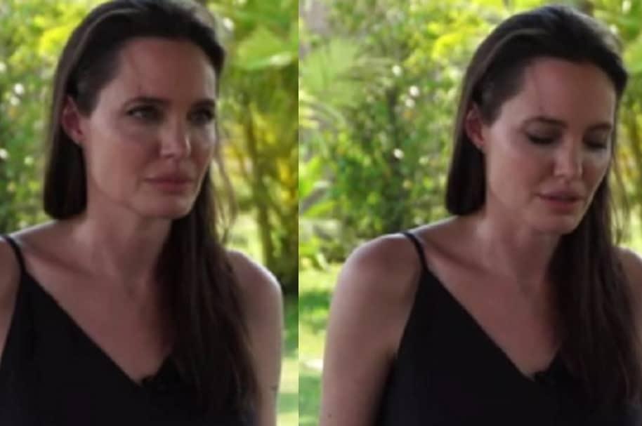 Angelina Jolie habla sobre divorcio