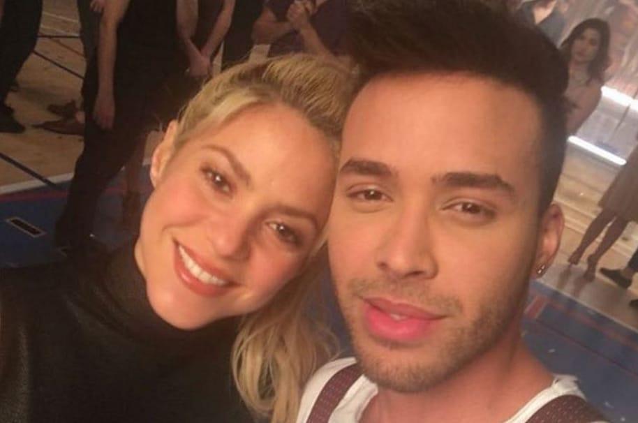 Shakira y Prince Royce, cantantes.