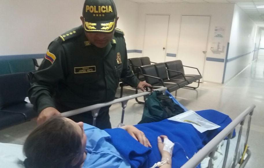 Policías heridos en atentado en La Macarena