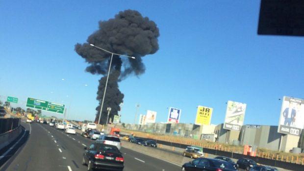 Avioneta caída en Melbourne