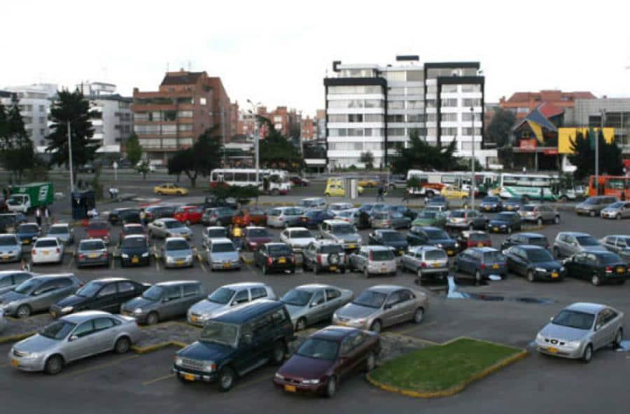 Parqueaderos en Bogotá, referencia