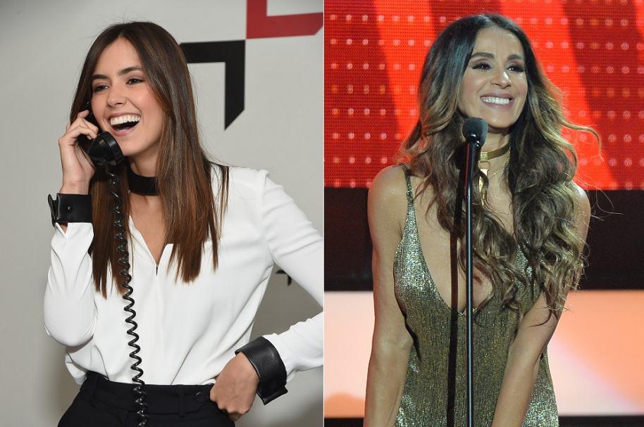 Paulina Vega, ex Miss Universo, y Catherine Siachoque, actriz.