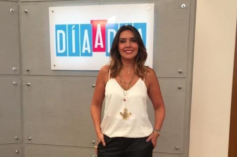 Mónica Rodríguez, presentadora de 'Día a día'.