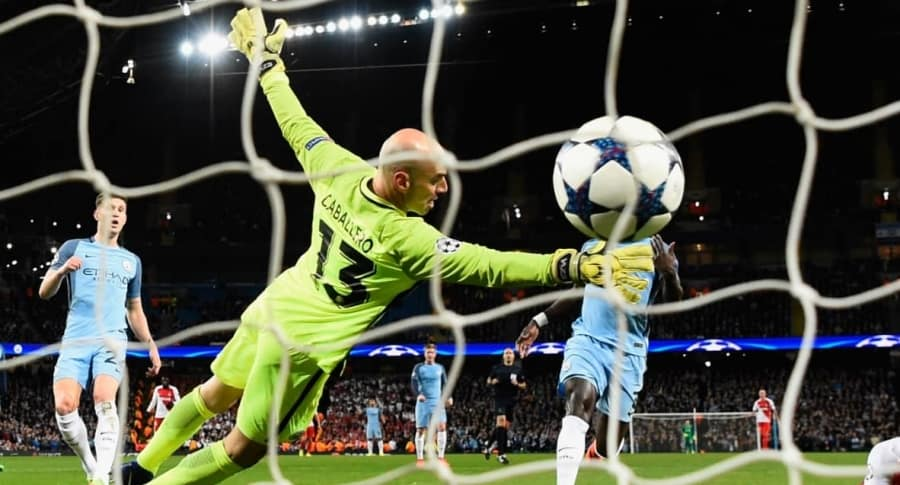 Falcao vs. Manchester City