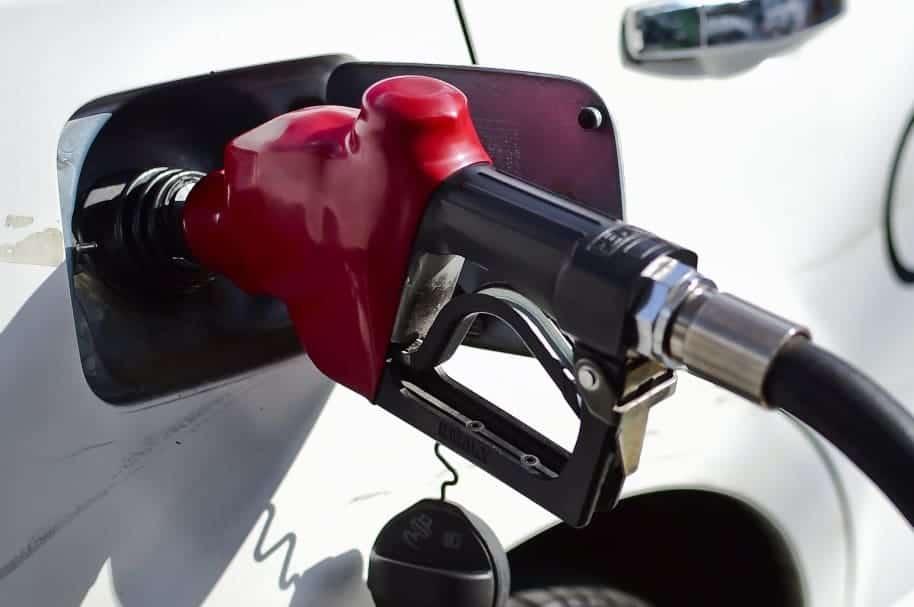 Dispensador de gasolina.