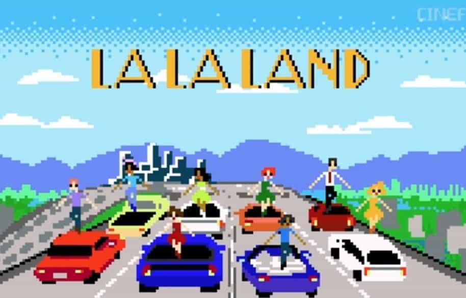 'La La Land' 8 bits