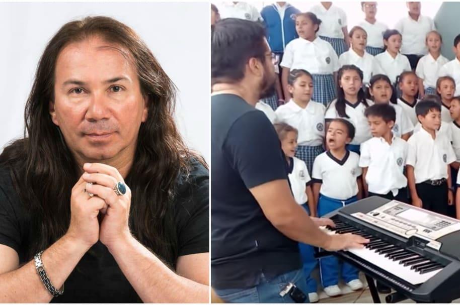 Tributo infantil a Élkin Ramírez.