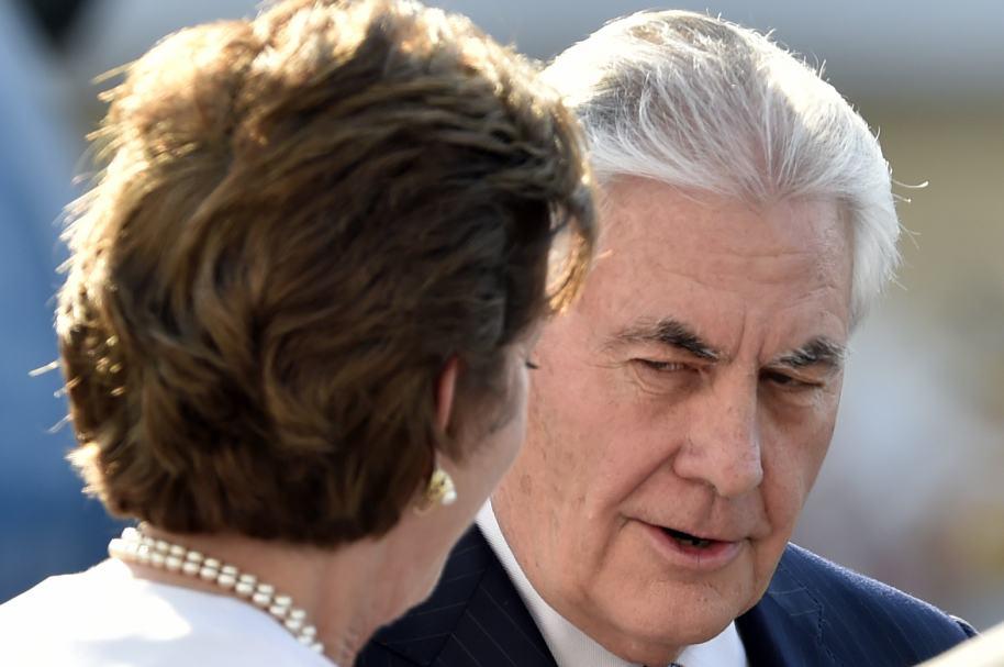 Tillerson en México