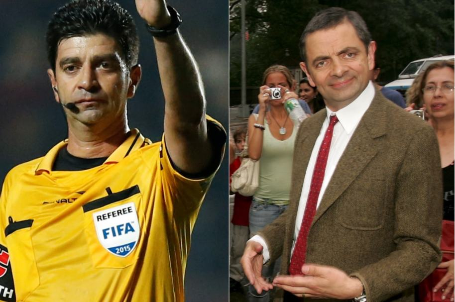 Hernando Buitrago y Mr. Bean Getty AFP