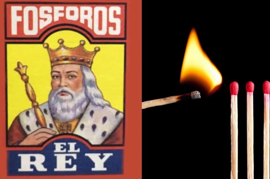 Fosforos El Rey