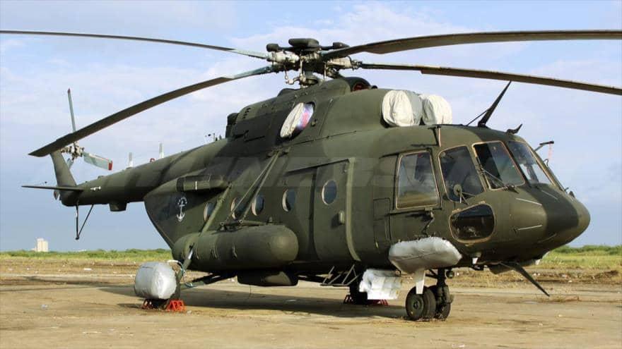 Helicóptero venezolano desaparecido