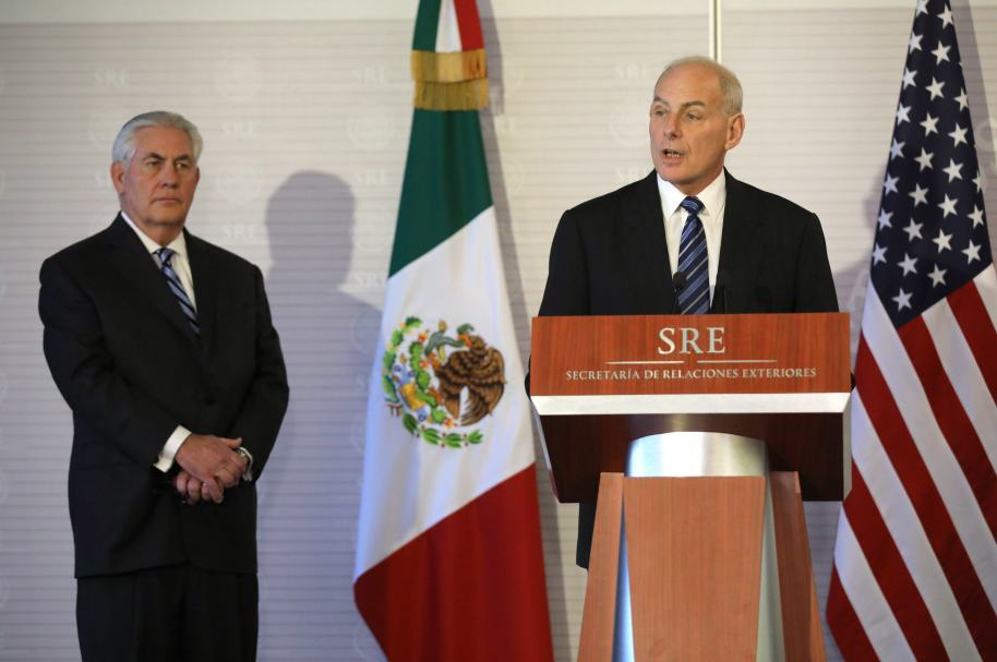 Secretarios de Estados Unidos en México