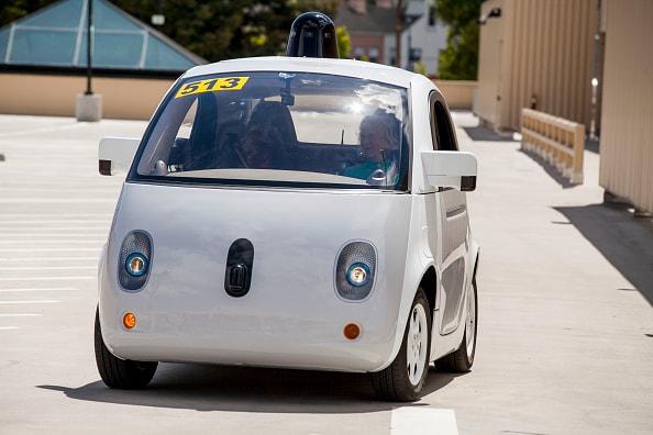 Google X, coche de conducción autónoma del gigante tecnológico
