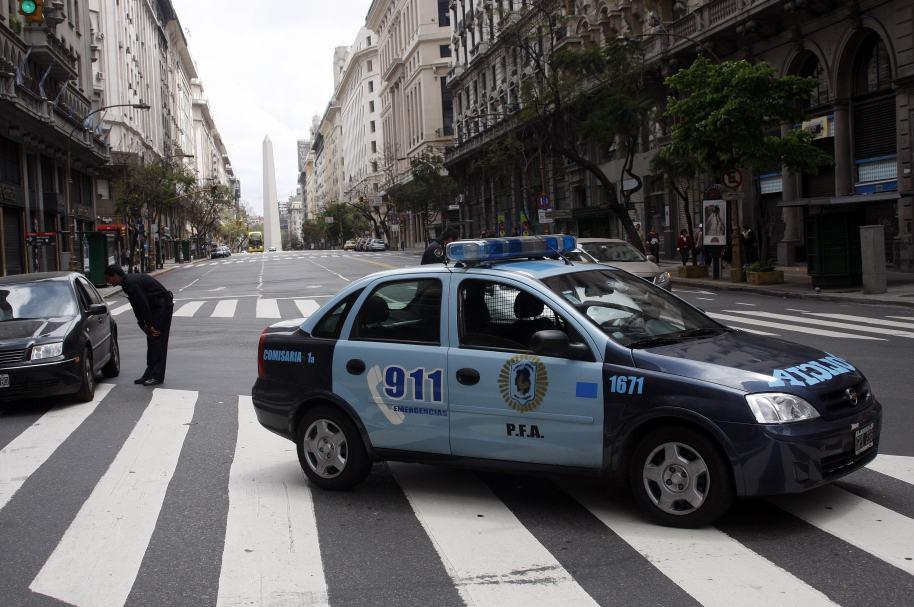Carro de la Policía Federal de Argentina.
