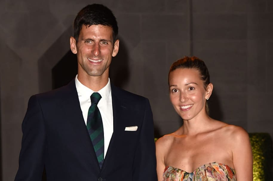 Novak DJokovic y Jelena