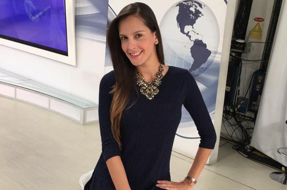 Laura Acuña, presentadora de Noticias RCN y 'Muy buens días'.