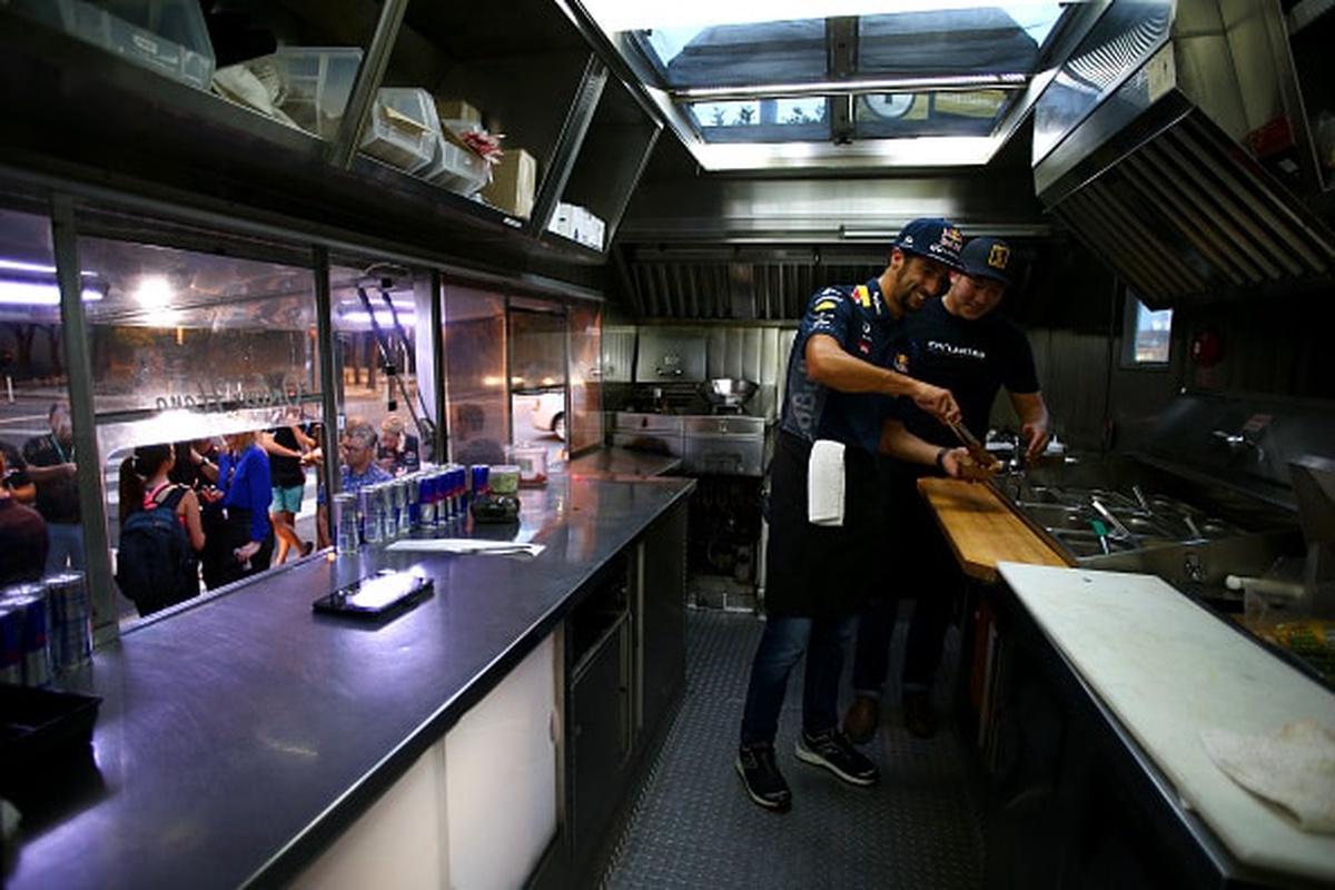 Interior de un 'food truck'
