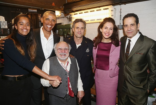 Celebrities Visit Broadway - February 24, 2017