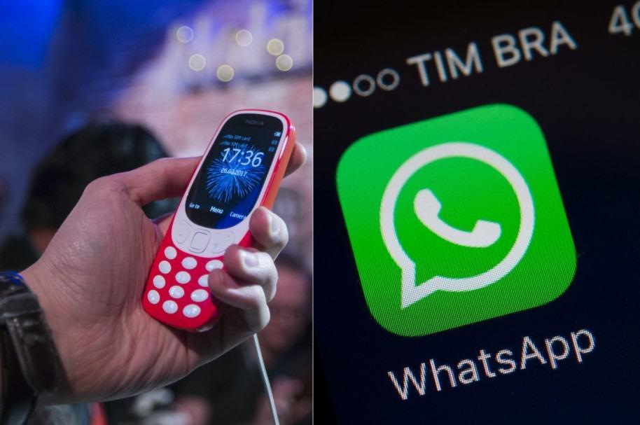 Nokia 3310 y WhatsAPP