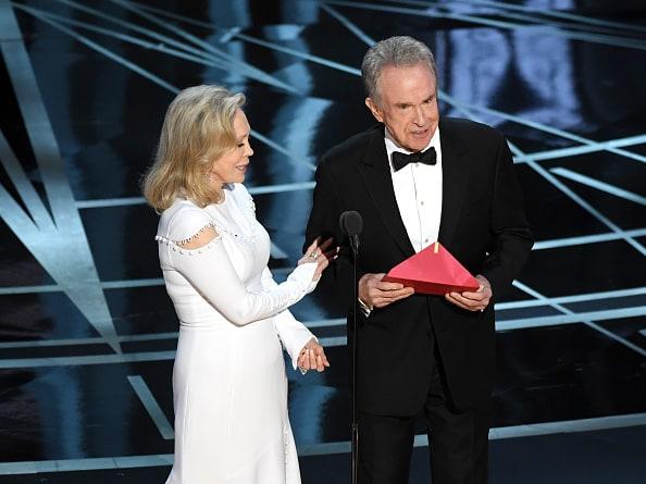 Momento del error en los Premios Óscar