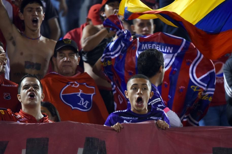 Hinchas del Independiente Medellin