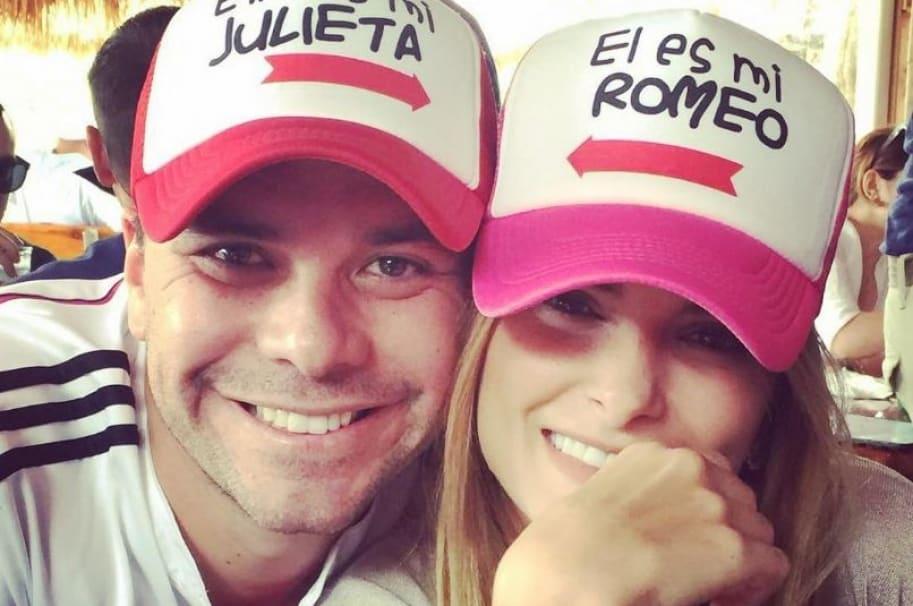 Luis Carlos Vélez, periodista de Telemundo y Caracol Radio, y su esposa Siad Char, expresentadora de Noticias Caracol.