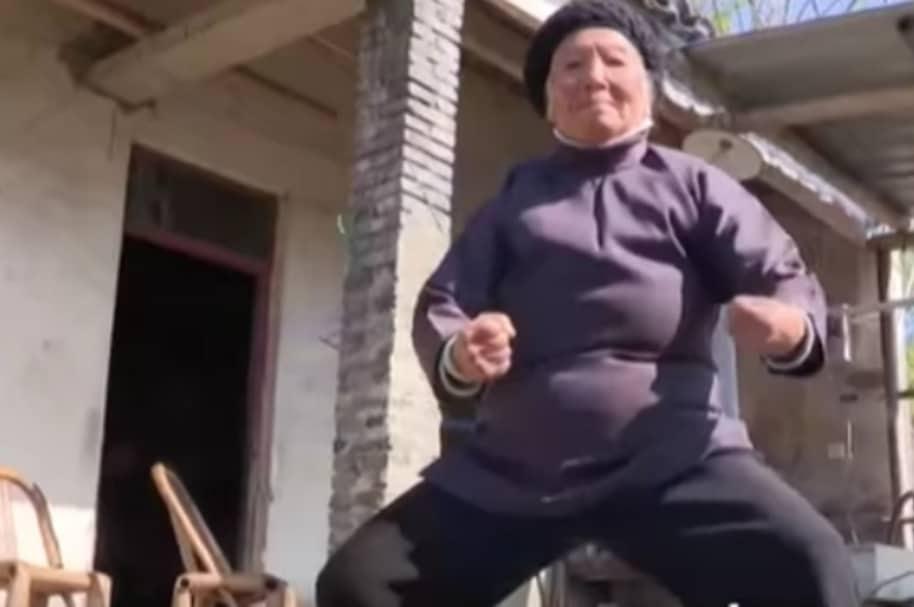 Zhang Hexian, de 94 años.