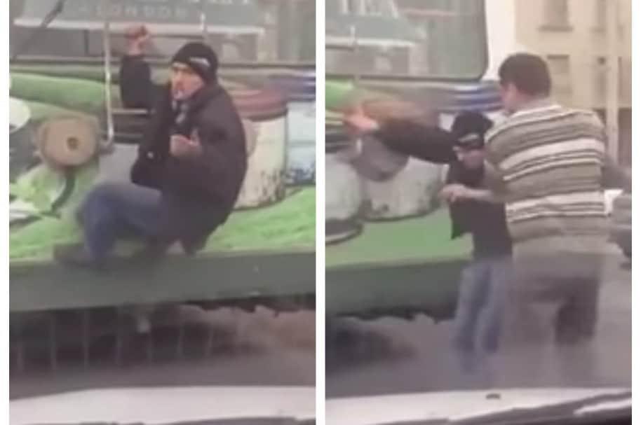 Hombre intentó viajar en trolebús de Moldavia sin pagar pasaje. Pulzo.com