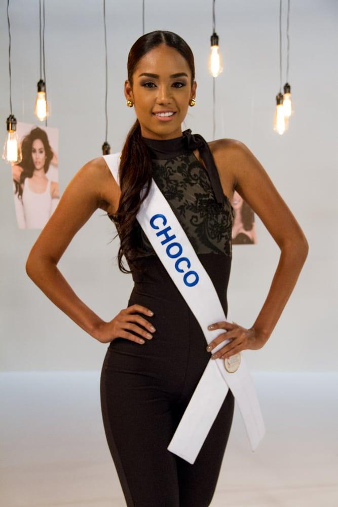Carmen Serna Pino, señorita Chocó.
