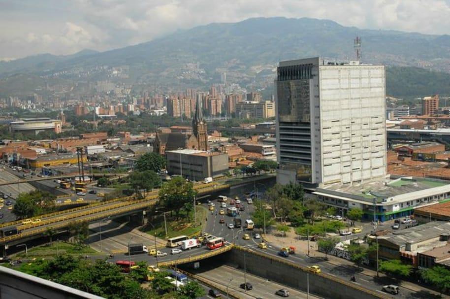 Panorámica de Medellín.