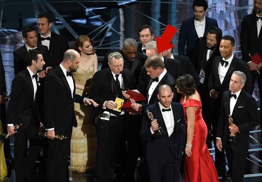Error en los Óscar.