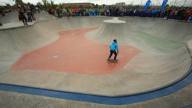 Pista de deportes extremos en Fontanar del Río (Suba)