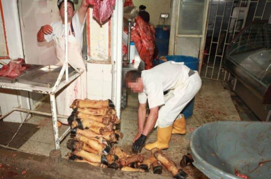 Carne en mal estado