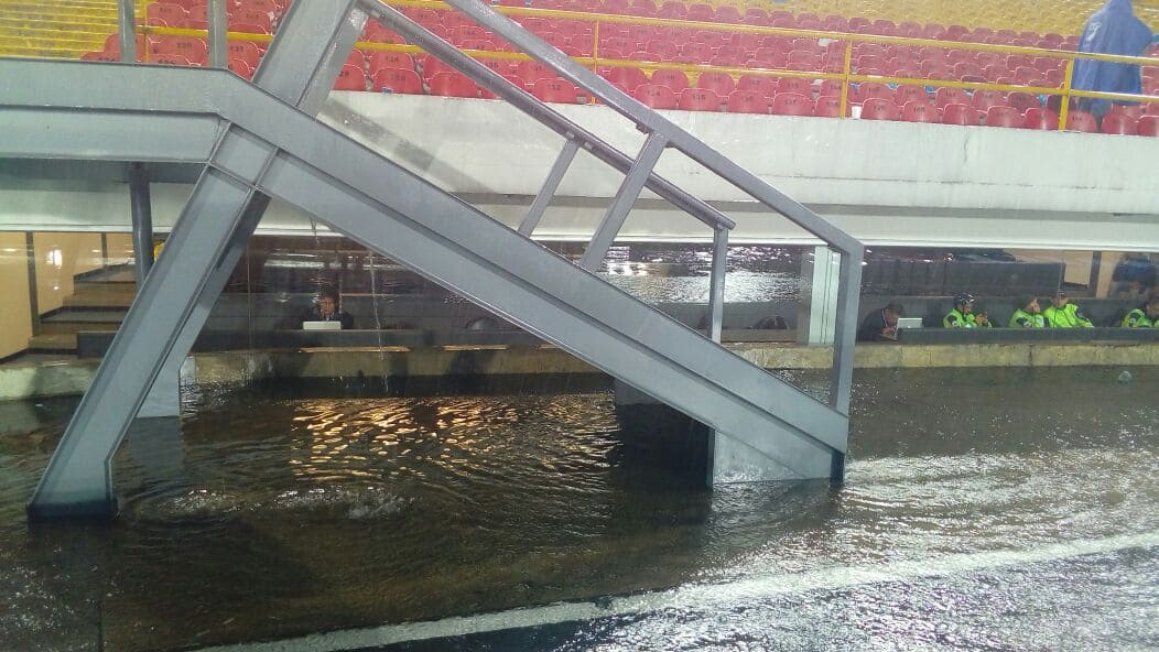Inundación de 'El Campín'