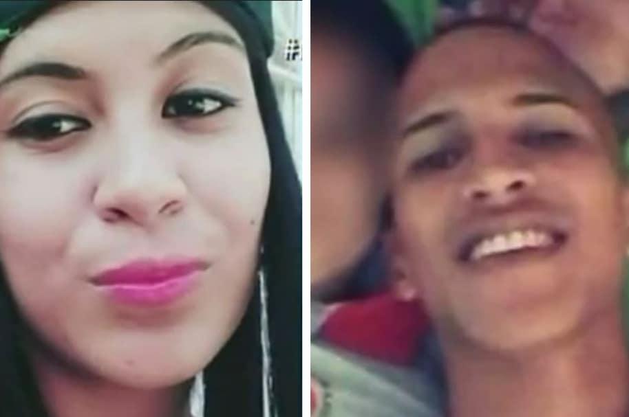 Angélica María Caicedo y Harold Andrés Martínez (novios asesinados)