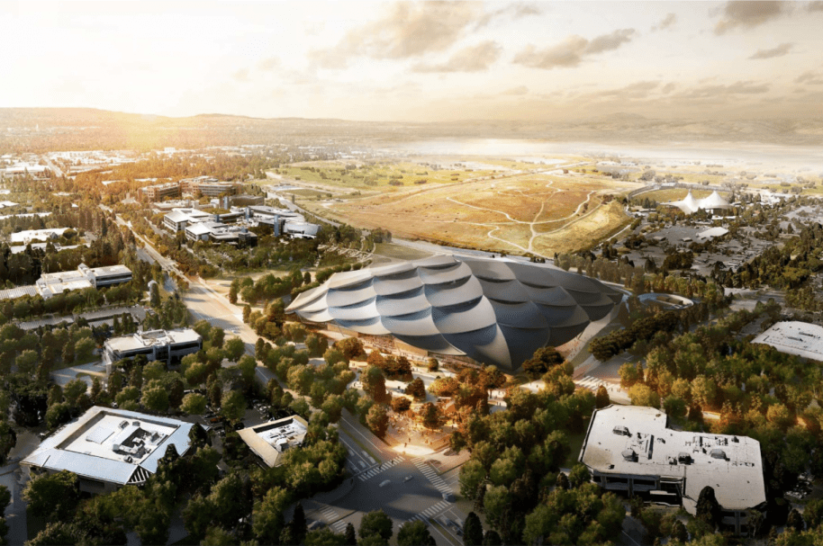 Campus Google planeado