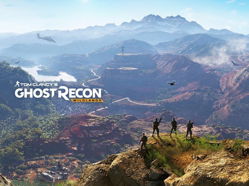 Afiche promocional Ghost Recon Wildlands