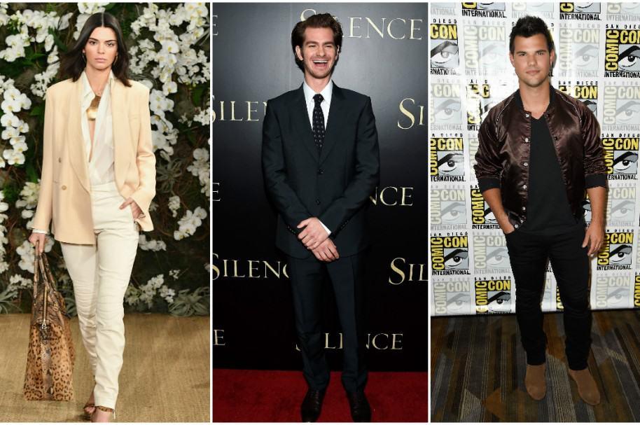 Kendall Jenner / Andrew Garfield / Taylor Lautner