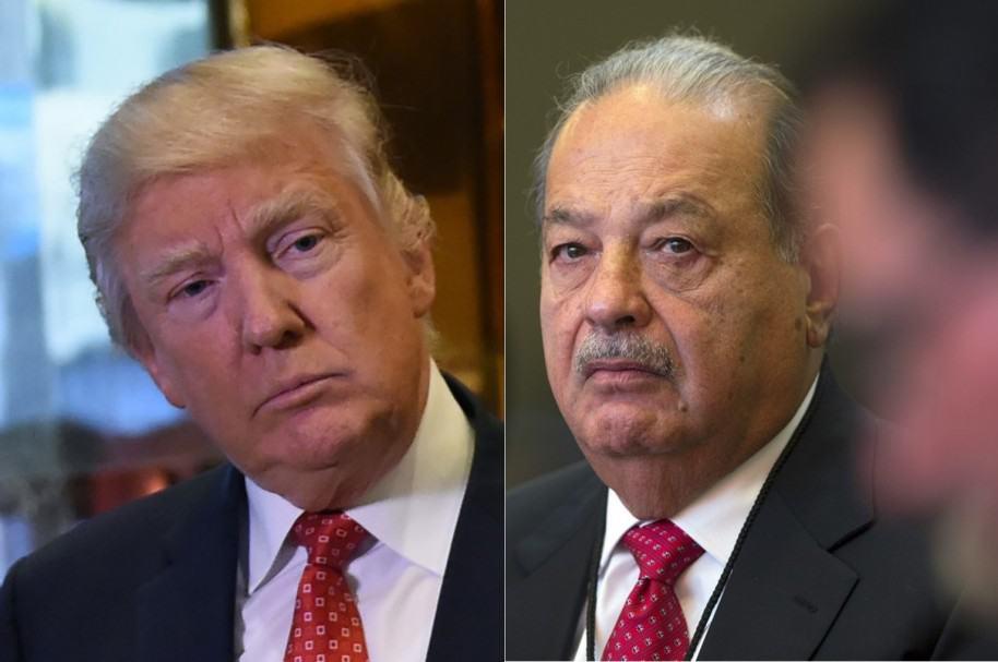 Trump y Slim