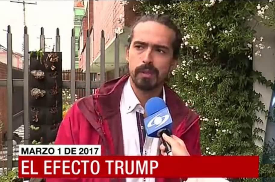 Fotógrafo deportado, en entrevista con Noticias Caracol