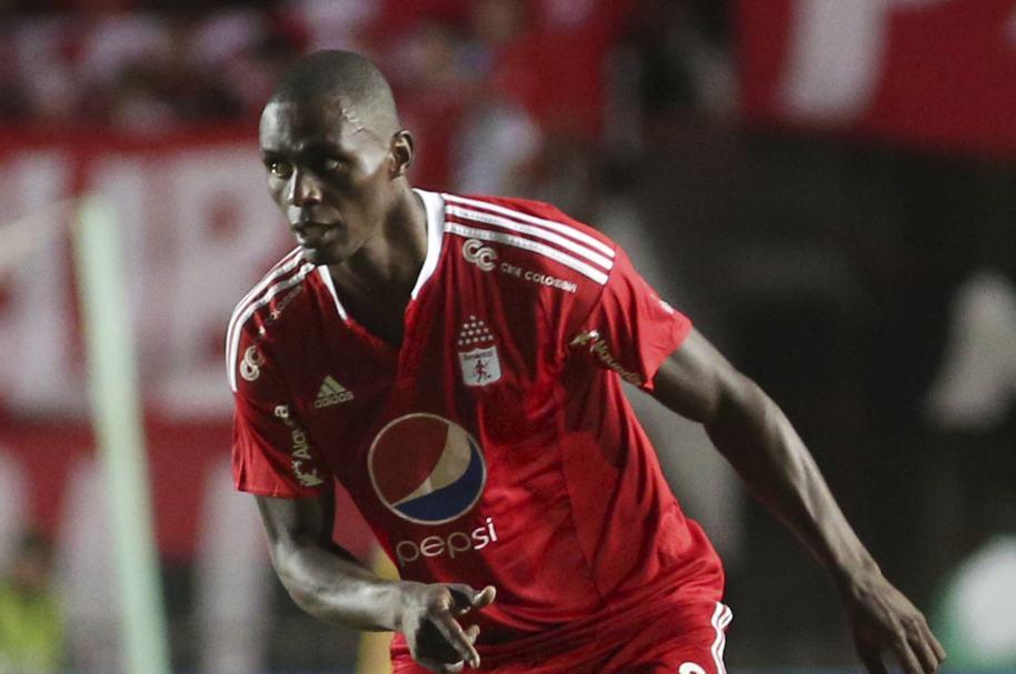 Efraín Cortés marcó el 2º gol de América en Barrancabermeja