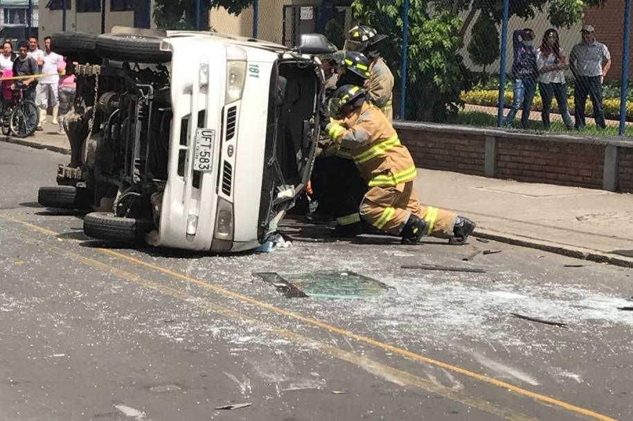 Accidente Bogotá, archivo