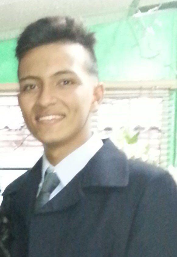 Brayan Andrés Montaña, de 17 años.