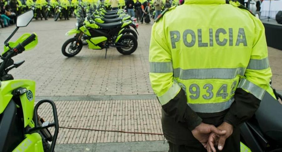 Motos de la Policía de Tránsito.