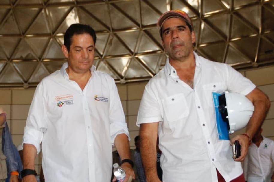 Germán Vargas Lleras y Alejandro Char, alcalde de Barranquilla