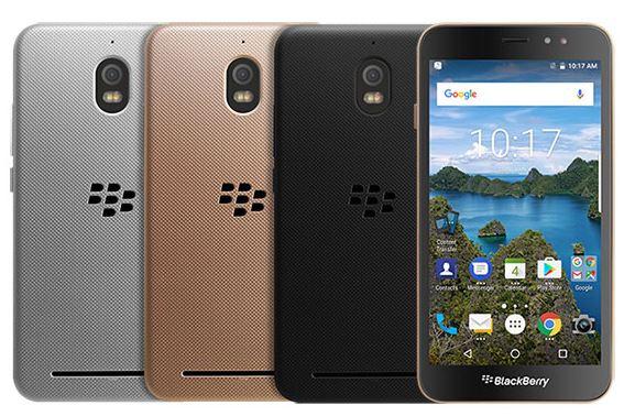 El BlackBerry Aurora vendrá en tres colores: plata, dorado y negro