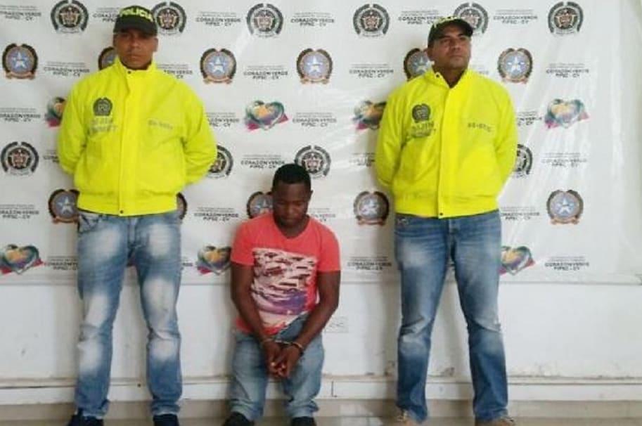 Enano capturado en Montería