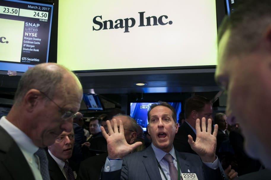 Snapchat en Bolsa