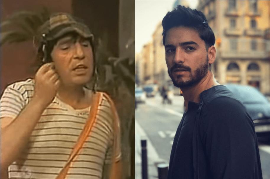 'El Chavo del 8' y Maluma.